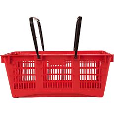 Καλάθι για super market κόκκινο (25,5lt)