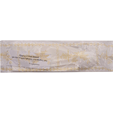 Κουβέρ πλαστικό μνημόσυνου λευκό, κουταλάκι, χαρτοπετσέτα λευκή (100τεμ.)