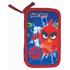 Κασετίνα διπλή σκληρή Angry Birds