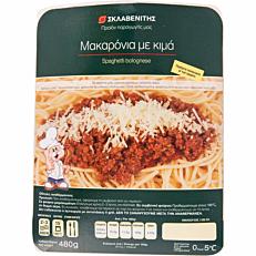 Έτοιμο φαγητό ΣΚΛΑΒΕΝΙΤΗΣ μακαρόνια με κιμά (480g)
