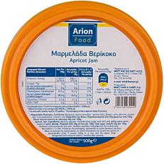 Μαρμελάδα ARION FOOD βερίκοκο (500g)
