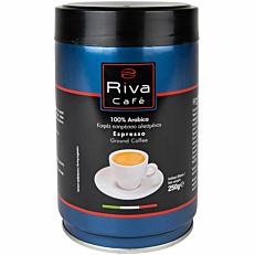 Καφές RIVA CAFÉ espresso platinum αλεσμένος (250g)