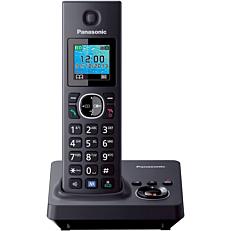 Τηλέφωνο PANASONIC KX-TG7861 ασύρματο, μαύρο