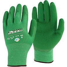 Γάντια νιτριλίου πράσινα αδιάβροχα Νο. 9