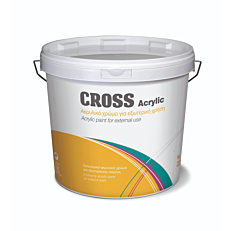 Αστάρι KRAFT Cross ακρυλικό, λευκό (3lt)