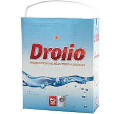 Απορρυπαντικό DROLIO πλυντηρίου ρούχων, σε σκόνη (55μεζ.)