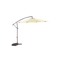 Ομπρέλα κήπου κρεμαστή μπεζ 3m