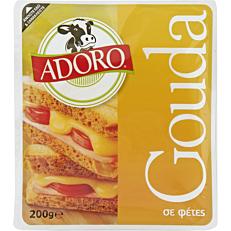 Τυρί ADORO gouda σε φέτες Γερμανίας (200g)