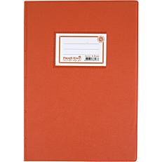 Τετράδιο PAPER KING 17X25cm πορτοκαλί 50φύλλων