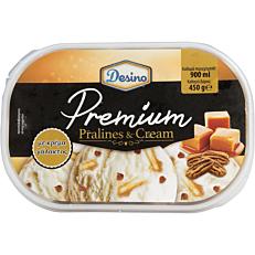 Παγωτό DESINO κρέμα πραλίνα συσκευασία 900ml (450gr)