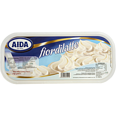 Παγωτό AIDA fior di latte Ιταλίας συσκευασία 4,75lt (2kg)
