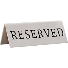 """Ταμπέλα SECURIT """"Reserved"""" (5τεμ.)"""