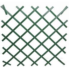 Πέργκολα πλαστική πράσινη 100x100cm