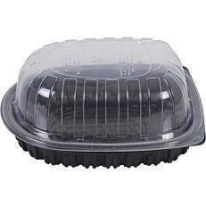 Σκεύη PP μαύρα με καπάκι (110τεμ.)