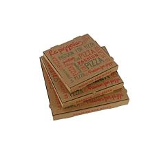 Κουτιά πίτσας microwelle Passion κραφτ 33x3,5cm (100τεμ.)