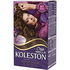 Βαφή μαλλιών WELLA Koleston σοκολατί no.6/7 με κρέμα αναζωογόνησης χρώματος (50ml)