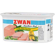 Κονσέρβα ZWAN κοτόπουλο luncheon meat με χορταρικά (200g)