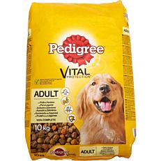 Τροφή PEDIGREE σκύλου adult με πουλερικά και ρύζι (10kg)
