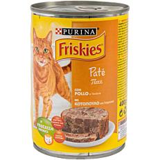 Τροφή FRISKIES γάτας πατέ κοτόπουλου (400g)