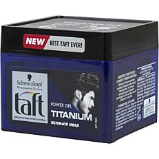 Gel μαλλιών SCHWARZKOPF taft titanium (250ml)