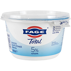 Γιαούρτι ΦΑΓΕ Total 5% λιπαρά (500g)