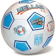Μπάλα ποδοσφαίρου δερμάτινη Hellas Νο.5