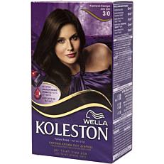 Βαφή μαλλιών WELLA Koleston καστανό σκούρο no.3/0 με κρέμα αναζωογόνησης χρώματος (50ml)