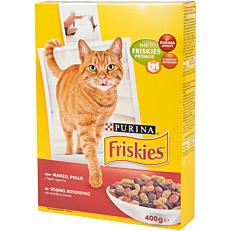 Ξηρά τροφή FRISKIES γάτας βοδινό (400g)