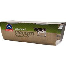 Γιαούρτι ΟΛΥΜΠΟΣ αγελάδος βιολογικό (bio) (2x200g)