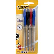Στυλό διαρκείας BIC cristal gel (4τεμ.)