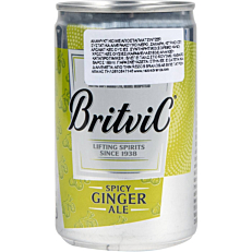 Αναψυκτικό BRITVIC ginger ale (150ml)