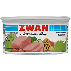 Κονσέρβα ZWAN luncheon meat (200g)