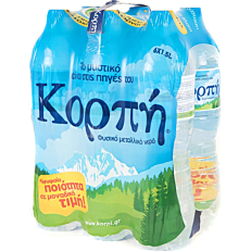 Νερό ΚΟΡΠΗ φυσικό μεταλλικό (6x1,5lt)