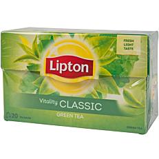 Τσάι LIPTON πράσινο classis (20x1,3g)