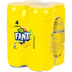Αναψυκτικό FANTA λεμονάδα (4x330ml)