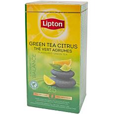 Τσάι LIPTON πράσινο τσάι εσπεριδοειδή (25x1,3g)
