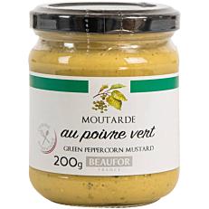 Μουστάρδα BEAUFOR με πράσινο πιπέρι (200g)