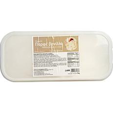 Παγωτό παρφέ βανίλια συσκευασία 5lt (2kg)