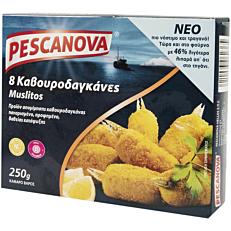 Καβουροδαγκάνες PESCANOVA πανέ κατεψυγμένες (250g)