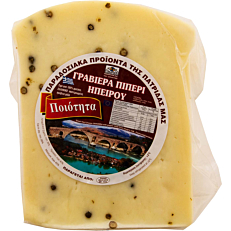 Τυρί EUROFOOD γραβιέρα με πιπέρια Άρτας (~500g)