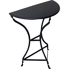 Τραπέζι μισό παραδοσιακό μαύρο