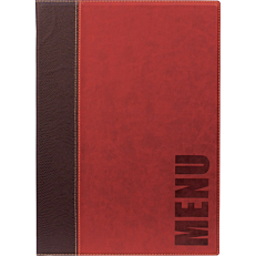 Θήκη κρασιού, SECURIT Trendy , 8 σελίδες, κόκκινη