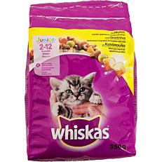 Τροφή WHISKAS γάτας junior με κοτόπουλο (350g)
