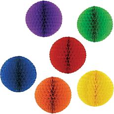Διακοσμητική χάρτινη μπάλα σε δύο διαστάσεις