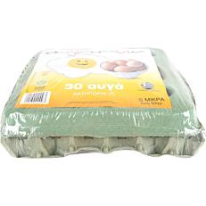 Αυγά ΑΥΓΟΜΑΝΙΑ φρέσκα μικρά (30x53g)