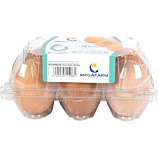 Αυγά ΜΕΓΑΦΑΡΜ φρέσκα (6x63-73g)