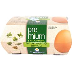 Αυγά ΜΕΓΑΦΑΡΜ φρέσκα premium αχυρώνα (6x53-63g)