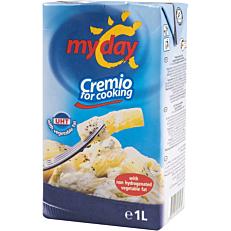 Κρέμα φυτική MY DAY cooking cream υψηλής παστερίωσης (1lt)