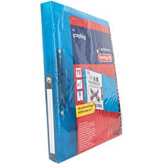 Κλασέρ HERLITZ Α4 PP 2 κρίκους 16mm μπλε