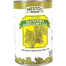 Αμπελόφυλλα NESTOS FOODS μαγιάτικα (3,8kg)